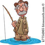 Fisherman Clipart and Illustration. 5,146 fisherman clip art.