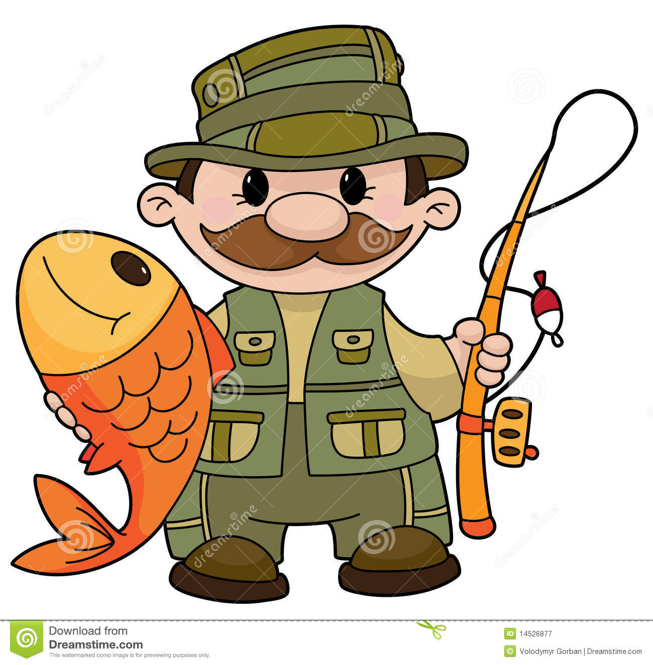 Fisher 20clipart.