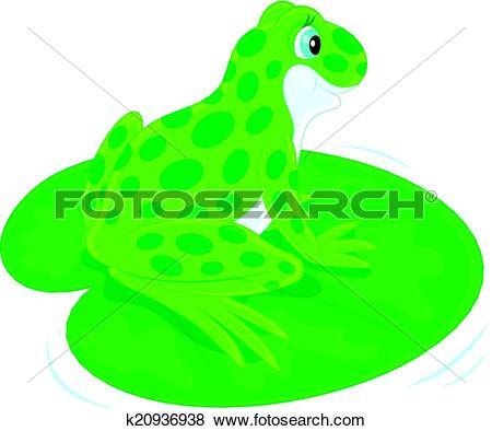 Clip Art of Frog k20936938.