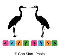 Bird grey heron Clipart Vector and Illustration. 46 Bird grey.