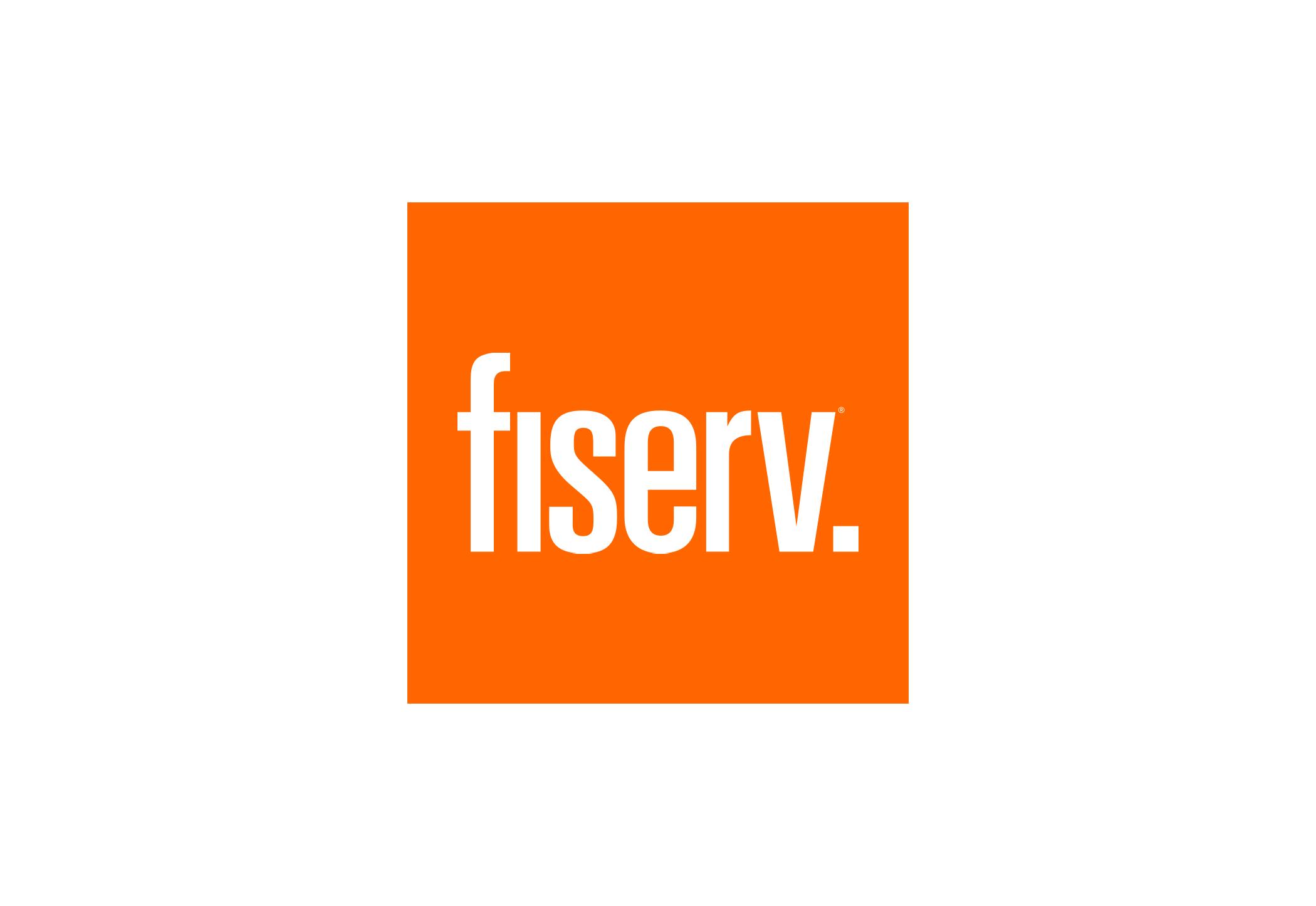 Fiserv logo.