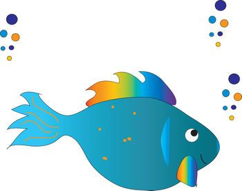 Fish with Bubbles.