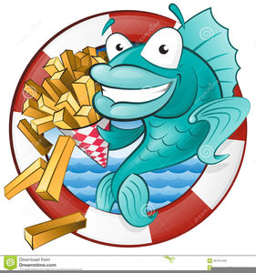 Chip Clipart Fish Free.