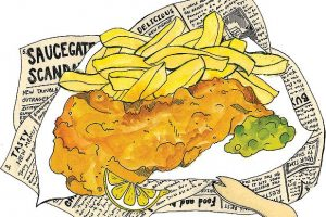 Fish and chips clipart 9 » Clipart Station.