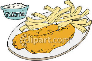 Fish and chips clipart 8 » Clipart Station.