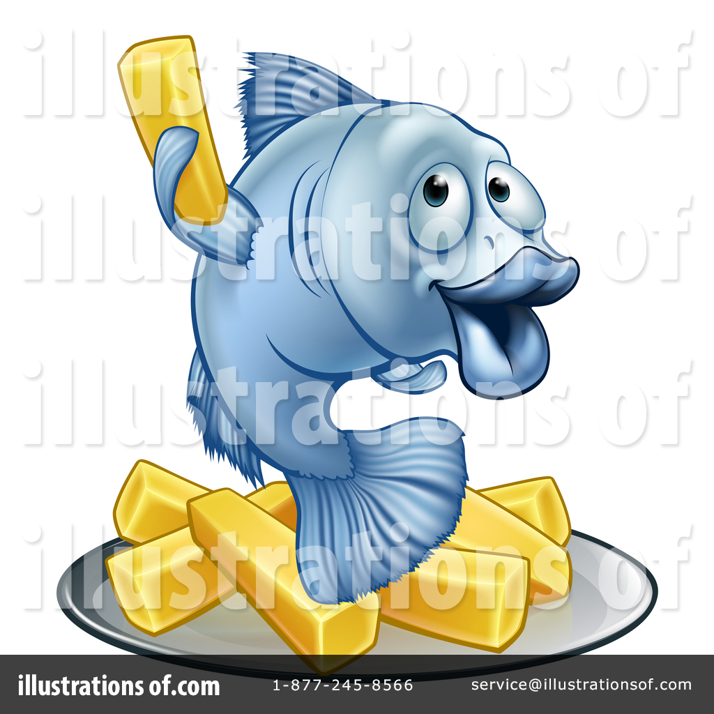 Fish And Chips Clipart #1438198.