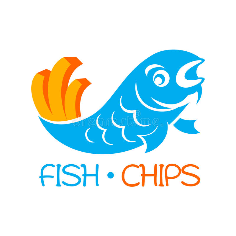 Fish Chips Stock Illustrations.