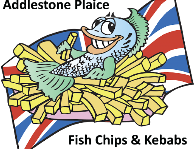 Fish And Chip Friday Clipart.