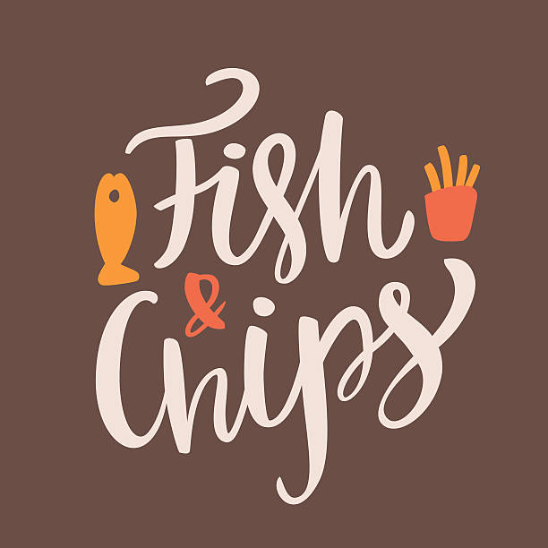 Best Fish And Chips Illustrations, Royalty.