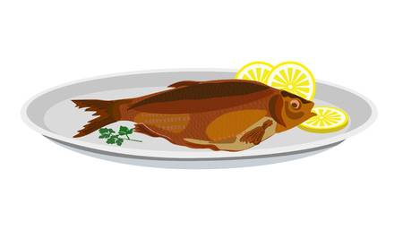 3,836 Fried Fish Stock Illustrations, Cliparts And Royalty Free.