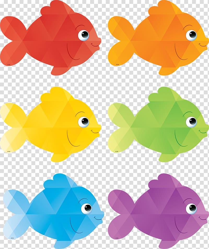 Fish Color Classroom Bulletin board , fish transparent.