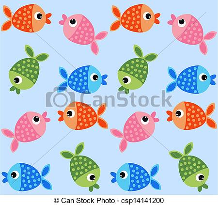 Fish background clipart 2 » Clipart Station.