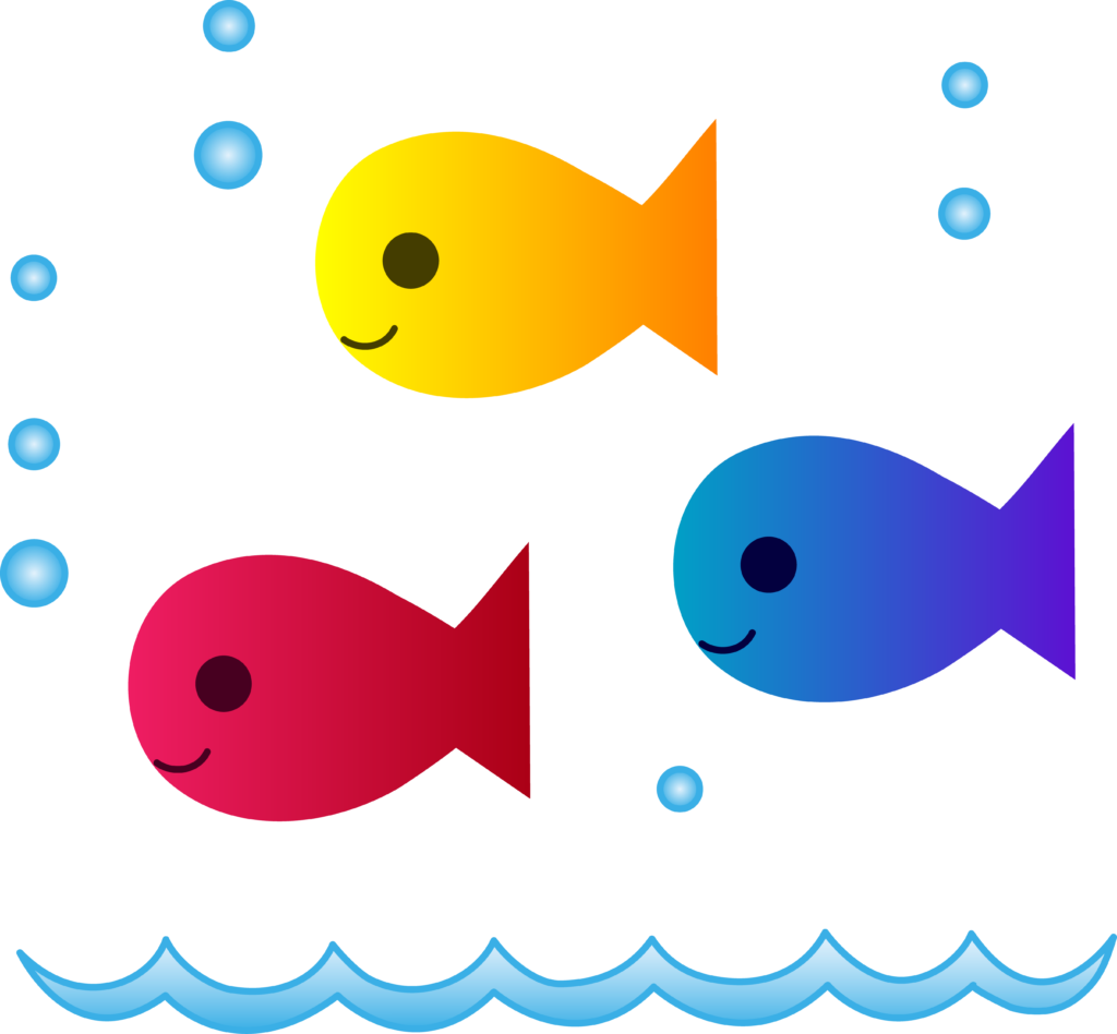 Clipart banner fish, Clipart banner fish Transparent FREE.