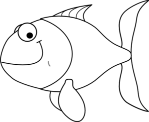 White Fish Clip Art at Clker.com.