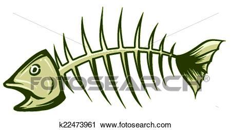 Fishbone Clipart.