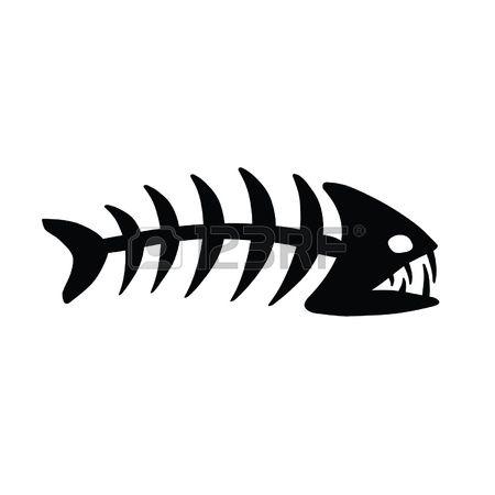 4,533 Fish Bone Stock Vector Illustration And Royalty Free Fish.
