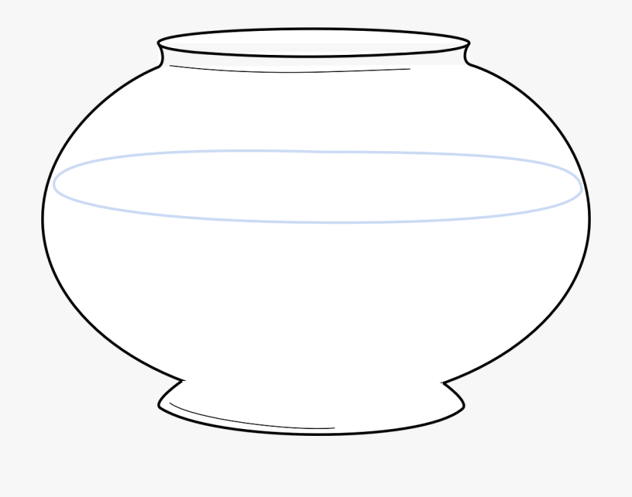 Bowl Fish Tank Empty.