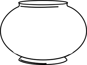 Blank Fishbowl 2 Clip Art at Clker.com.