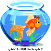 Fish Bowl Clip Art.