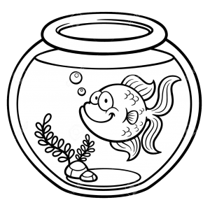 999+ Fish Clipart Black and White [Free Download.