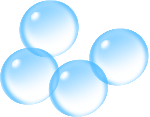 Animated bubbles clipart.