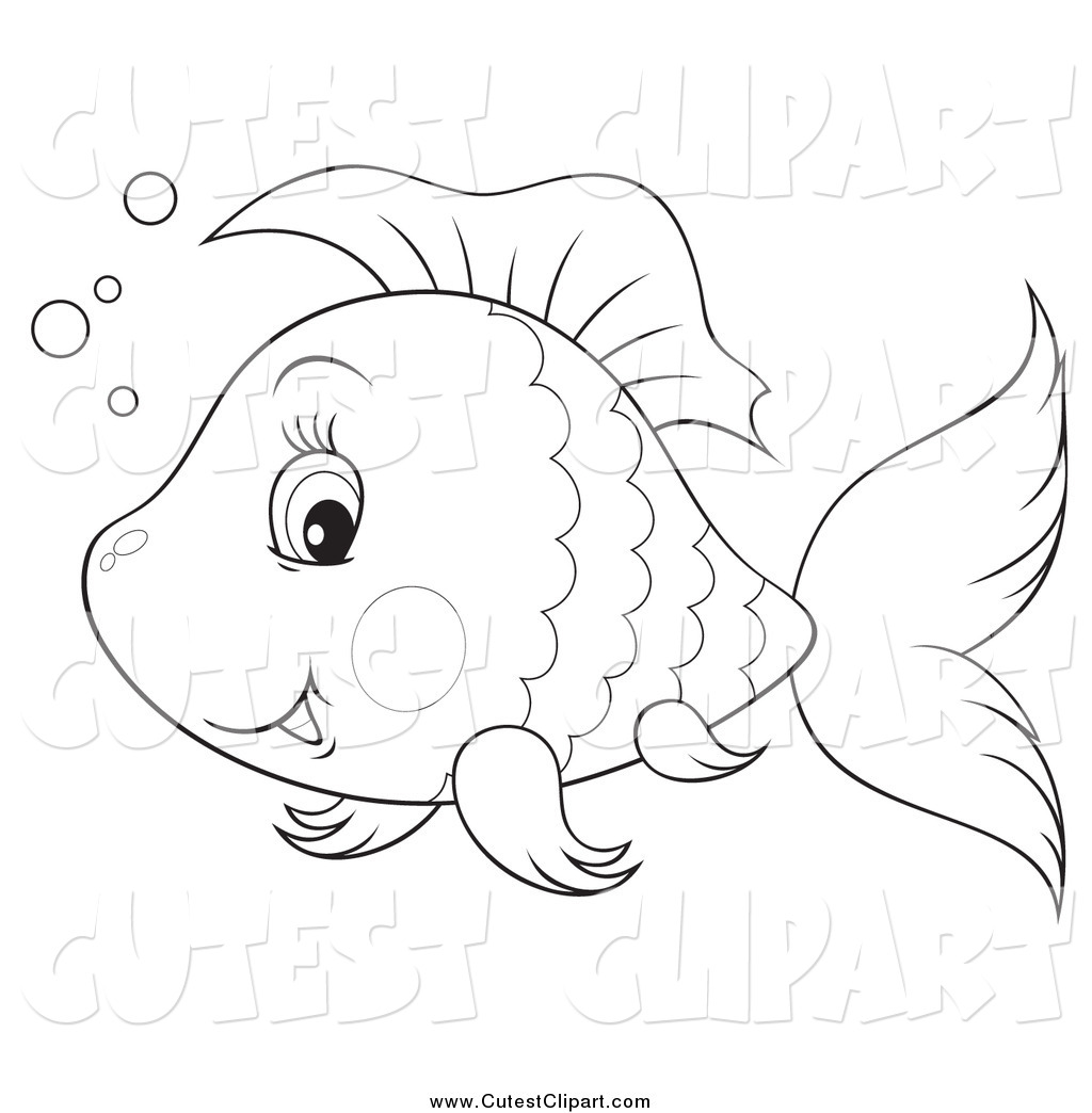 Fish Bubbles Clipart.