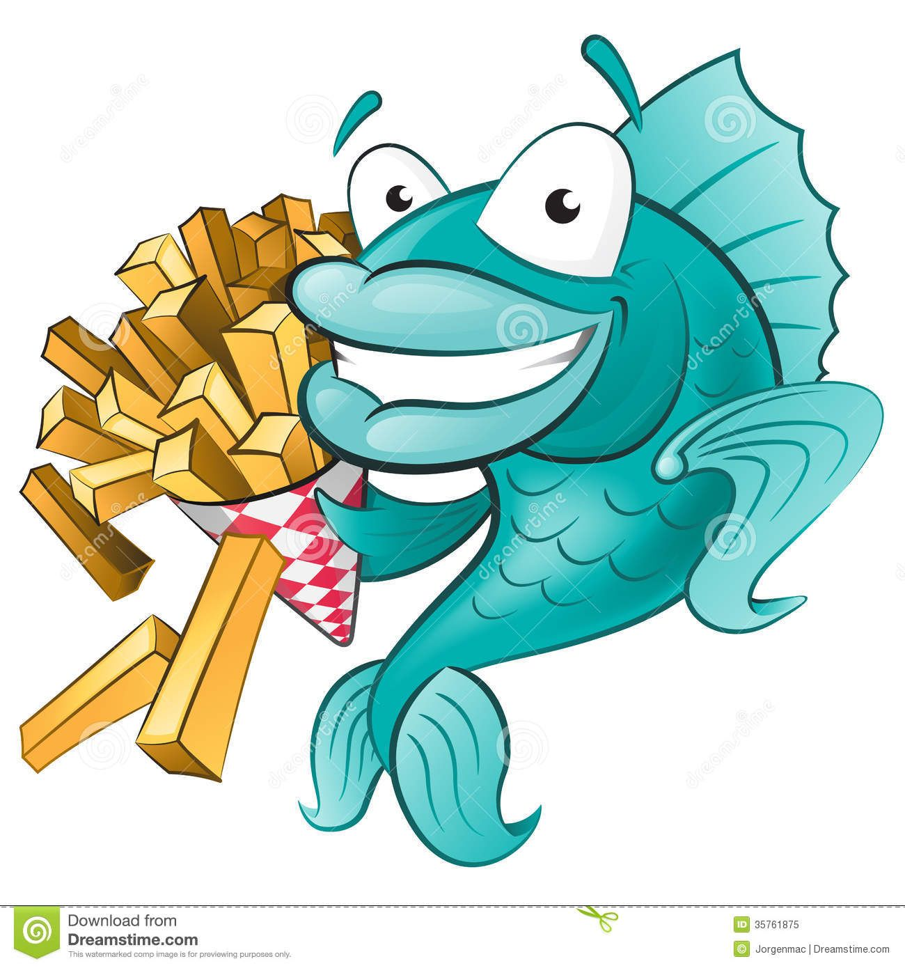 fish and chips clip art.