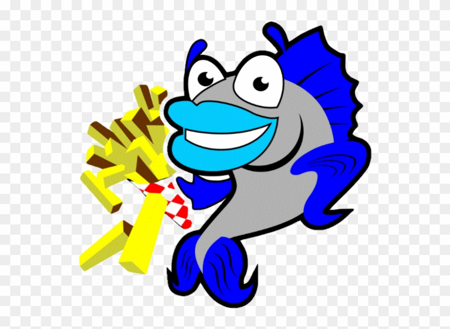 Clipart Fish And Chips.