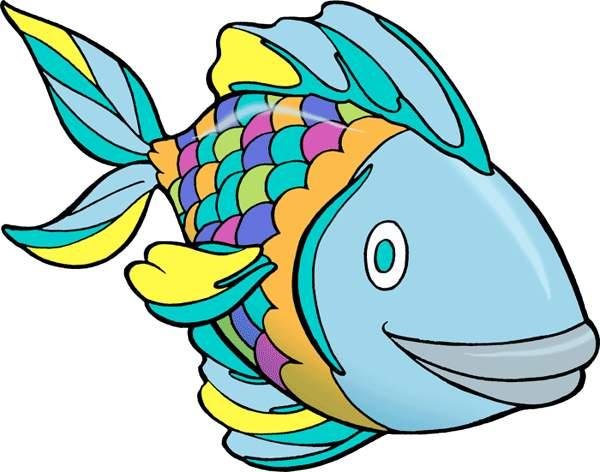 Pretty fish clipart - Clipground