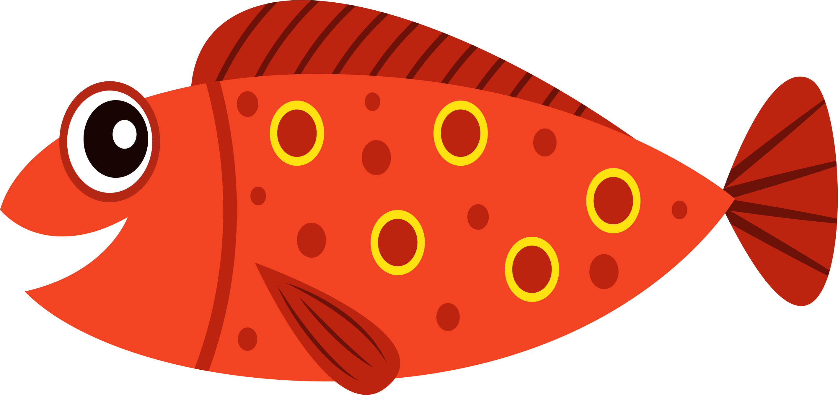 Fish Cartoon Clip art.