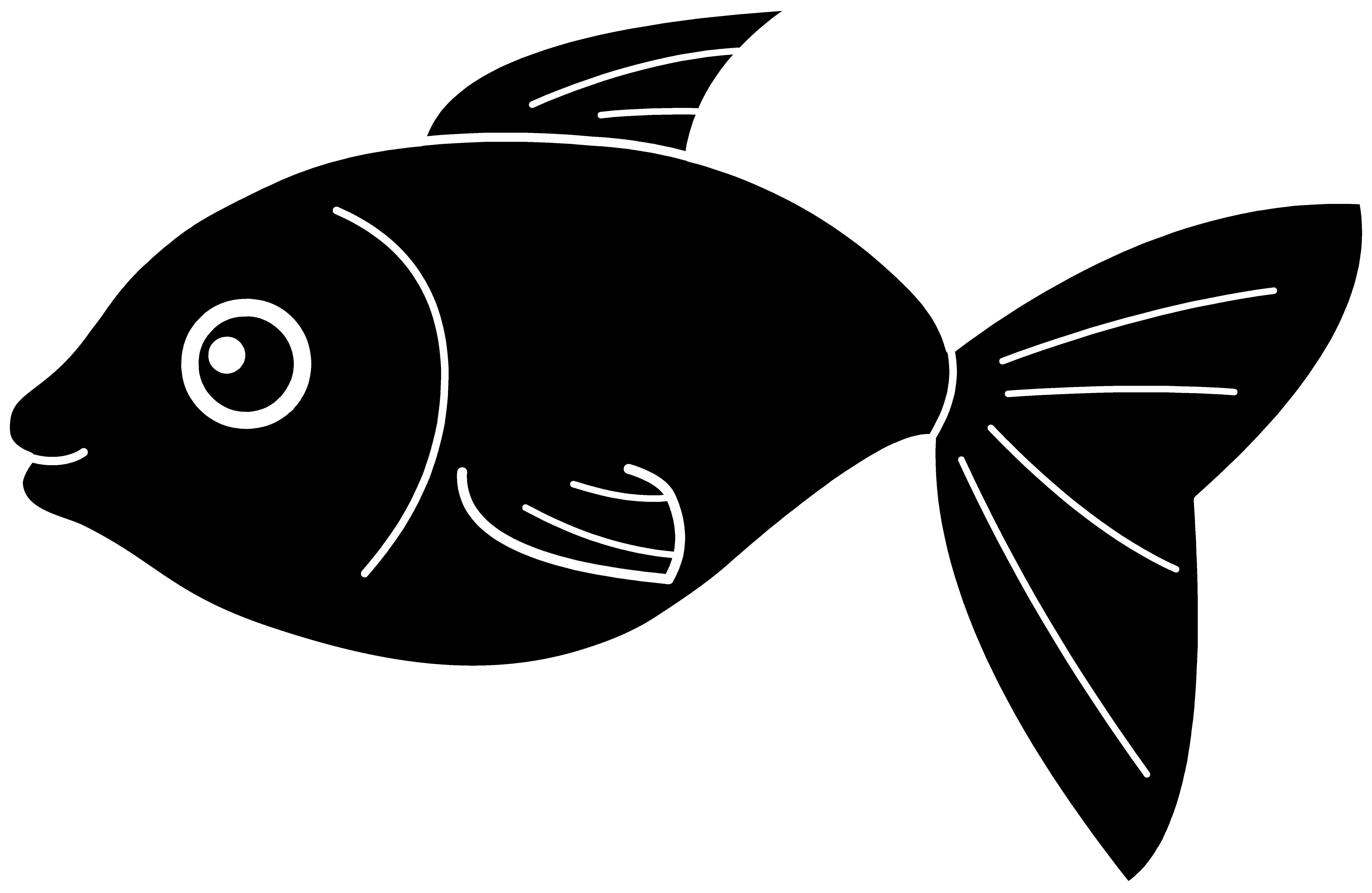 Fish Silhouette Clip art.
