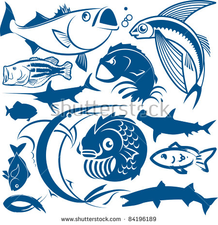 Flying Fish Stock Images, Royalty.
