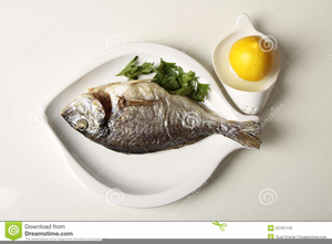 Free Clipart Of Fish Dinner.