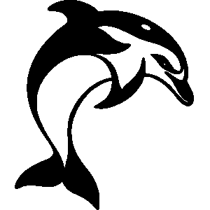 Fish Dolphin Clipart.
