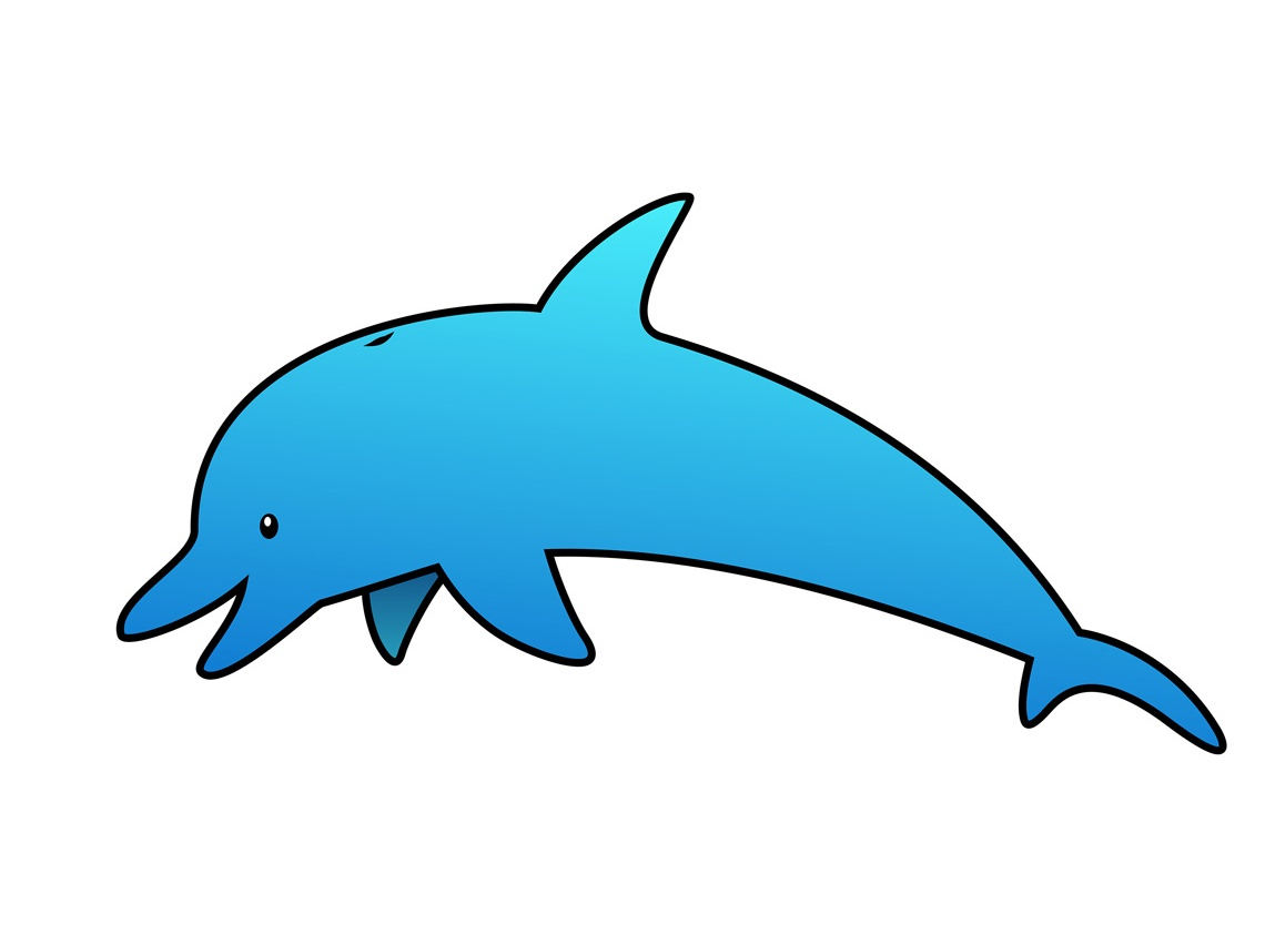 Fish Dolphin Clipart.