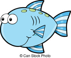 Fish face clipart.