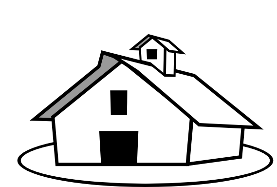 Farm Clipart Black And White & Farm Black And White Clip Art.