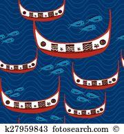 Flying fish festival Clip Art Illustrations. 10 flying fish.