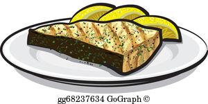 Fish Fillet Clip Art.