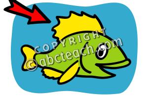 Fish fin clipart » Clipart Portal.