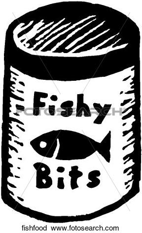 Clipart of Fish Food fishfood.