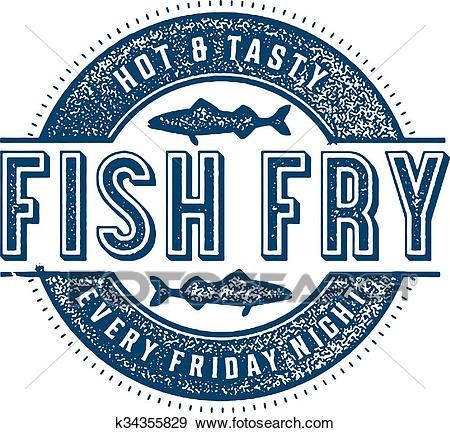 Friday Fish Fry Clip Art.