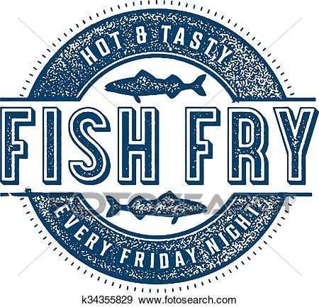 Friday Fish Fry Clip Art.