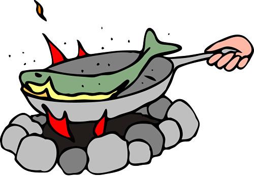 Fish Fry Clipart Beta fish.