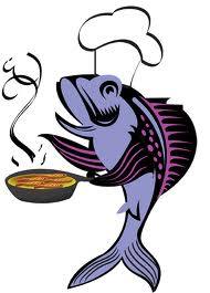 Fish Fry Dinner Clipart.