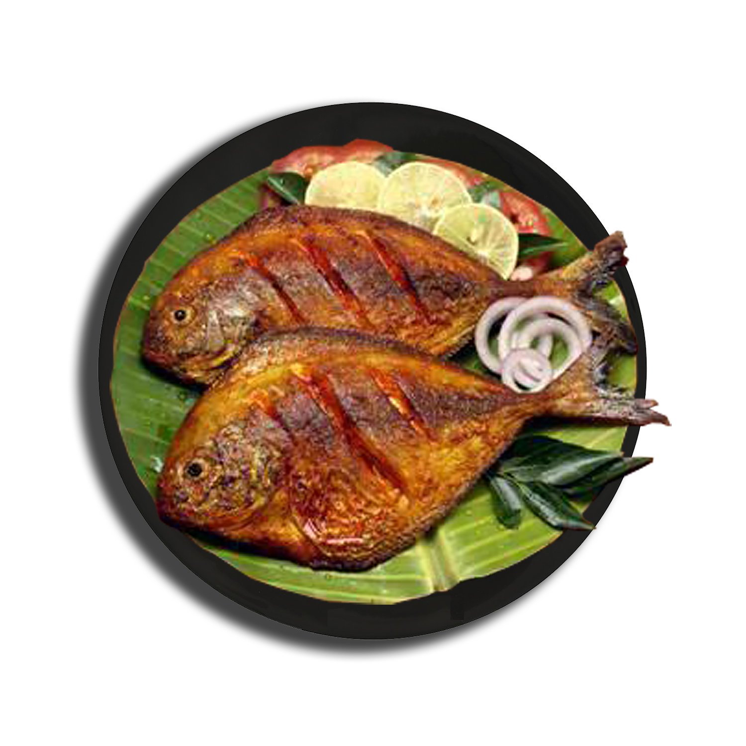 Fish Fry Png Image Black And White Stock #54280.
