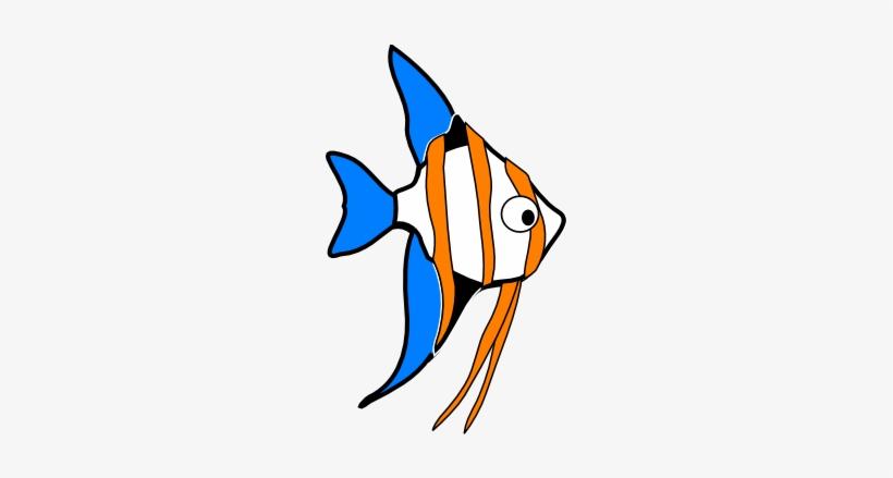 Hzo Angel Fish Clip Art.