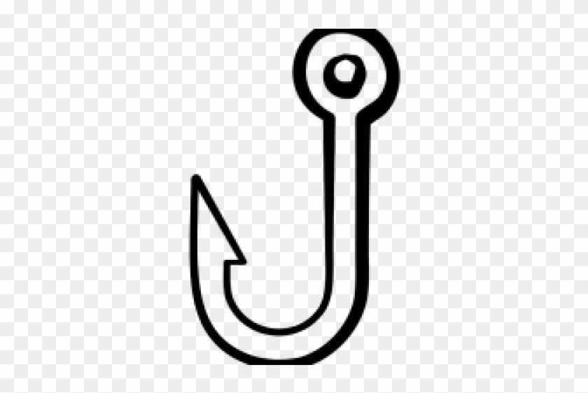 Antler Clipart Fish Hook.