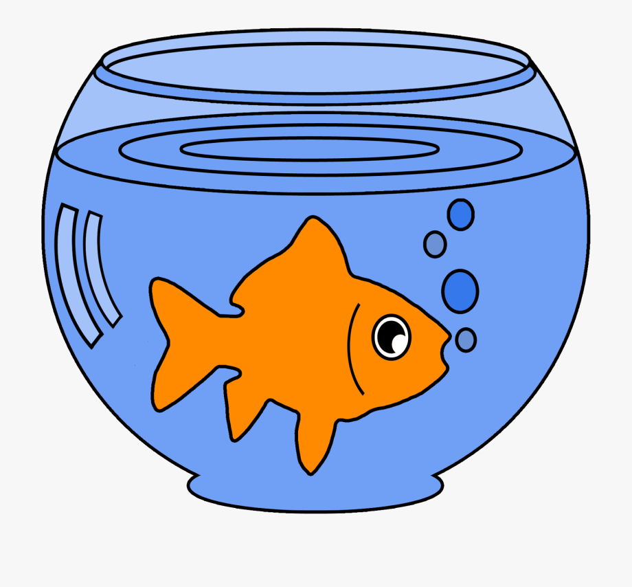 Goldfish In A Bowl Png.