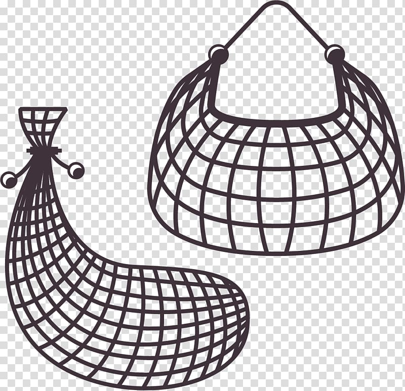 Fishing net Fish trap, Fishing trap transparent background.